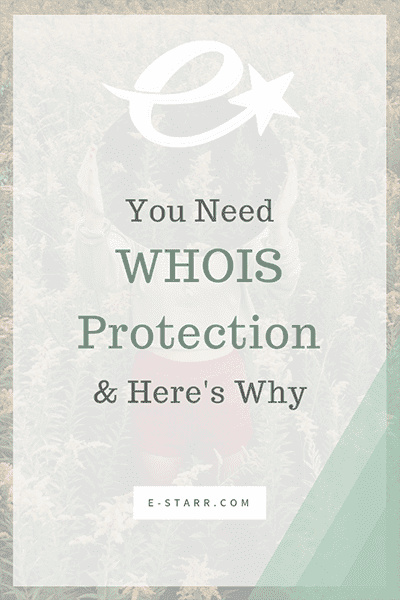 Why You Need WHOIS Protection