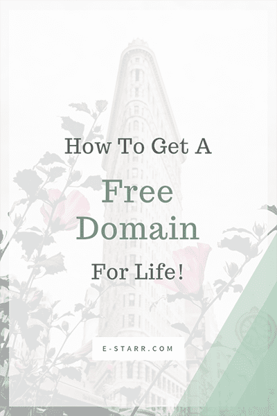 How To Get A Free Domain For Life